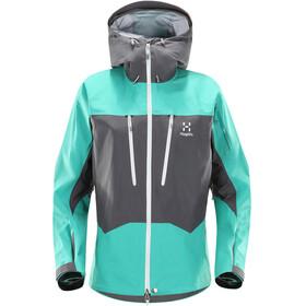 Haglöfs W's Spitz Jacket Magnetite/Crystal Lake
